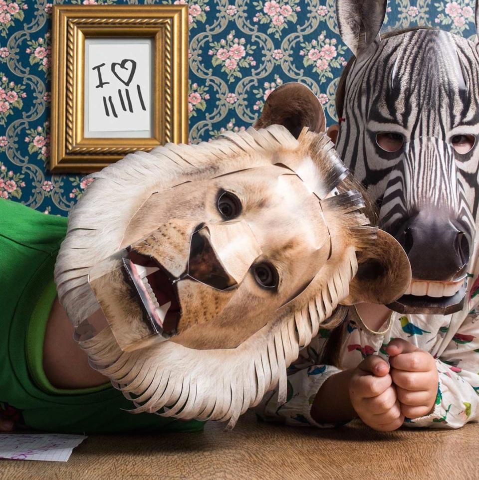 löwe und zebra