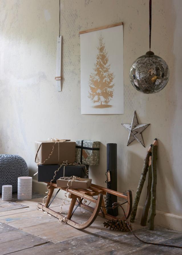 Artprint Mood Christmasisgolden